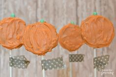 Expectation: Oreo pumpkin pops. | 19 Halloween Pinterest Fails