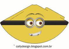 Os amarelinhos Minions, acabaram de chegar no Blog, a criançada realmente ficaram apaixonadas por esse personagens tão fofos e engraç...