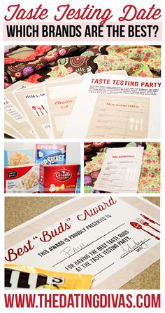 Such a fun date idea! I've always wondered if different brands taste the same. www.TheDatingDiva...