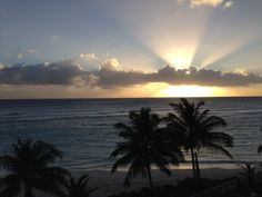Balcony view Barbados, Balcony, Caribbean, Celestial, Sunset, Outdoor, Outdoors, Balconies, Sunsets