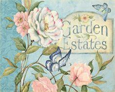 Lang May 2014 wallpaper: Cottage Garden