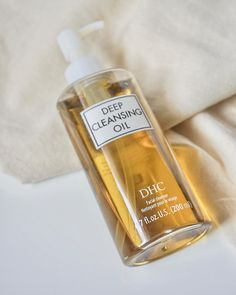 Best Cleansing Oil, Dhc Skincare, Oil Based Cleanser, Dry Face, Skin Cleanse, Best Oils, Deep, Waterproof Mascara, Dry Hands
