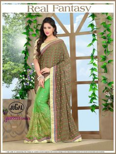 Ideal Brown and Mint Green Embroidered Saree. Make personality more stylish with this Georgette & Creape saree. This saree will keep you comfortable all day long. This saree is quite comfortable to wear and easy to drape as well. This saree comes with matching unstitch Blouse. #designersaree, #embroiderysarees, #wholesalesareesonline http://www.addsharesale.com/