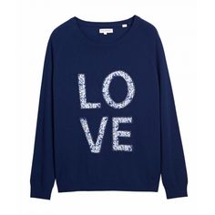 Liberty Love Applique Sweater - Sweaters - Women Chinti and Parker