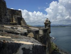 El Morro Fortress - San Juan, Puerto Rico. Lived in San Juan for two weeks...beautiful places!  Toured this fortress for hours...fascinating history.