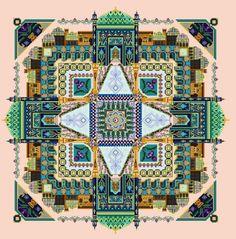 ru / Фото - The Persian Iris Garden Mandala - lkolodina Garden Architecture, Islamic Architecture, Bridge Painting, Persian Garden, Paradise Garden, Iris Garden, Project 4, Orient, Picture Design