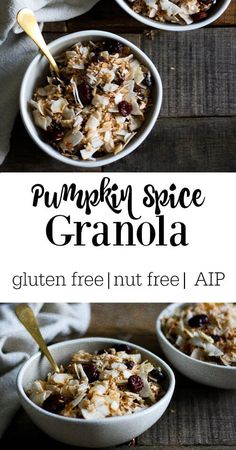 A completely gluten free, nut free healthier version of cereal. Also, AIP compliant. Yay! WIN!