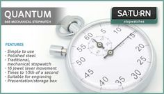 Saturn Stopwatches supply a range of digital stopwatches ideal for timing sports and other time sensitive activities.