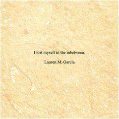 Lauren M. Garcia  Lost