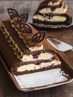 Rolada tiramisu | Pani Tereska - Przepisy od serca Baking Recipes, Cake Recipes, Dessert Recipes, Little Cakes, Polish Recipes, Pastry Cake, No Bake Treats, Eat Dessert First, Fancy Cakes