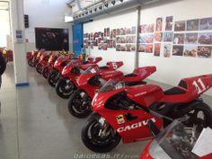 Cagiva 500GP bikes