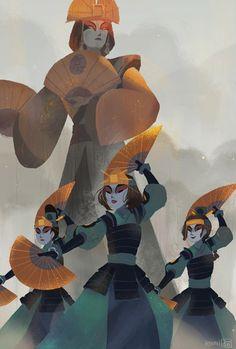 Киоши и её воительницы