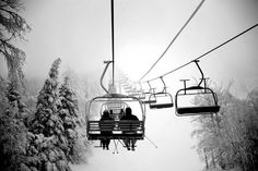 Chairlift to Heaven. Photo by Paul Perrier -- National Geographic Your Shot