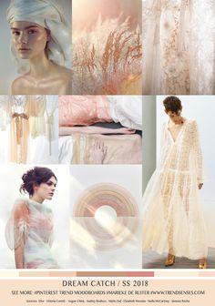DREAM CATCH / SPRING SUMMER 2018 Sources: Dior – Vittoria Ceretti – Vogue China – Audrey Bodisco – Matin Zad – Elizabeth Messina – Stella McCartney – Simone Rocha
