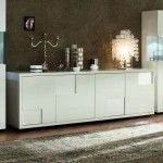 $2,877.12 Rossetto Furniture - Nightfly White Buffet - 413304733068BF