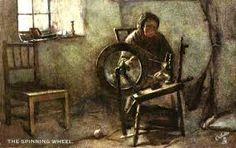Image result for painted spinning wheel