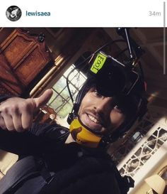 New photo of #ColinMorgan on the set of @Channel4's #Humans via @LewisAEA's Instagram.