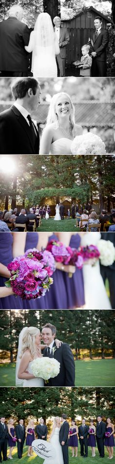 Real Wine Country Wedding Jesse Jennifer At Tadue Winery Weddings Magazine Featured Pinterest