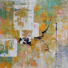 "Saatchi Art Artist jean-humbert savoldelli; Painting, ""L'EMPREINTE"" #art"