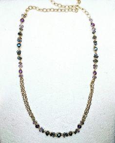 Labradorite, Metals, Fresh Water, Jewlery, Amethyst, Beaded Necklace, Stones, Shop My, Pearl