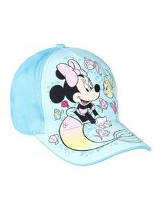Sapca fete Minnie Mouse (51 cm) din bumbac Categorie: În Aer Liber Hai afară la joacă! Nu uita și de șapca ta preferată! Culoare: albastru deschis cu imprimeu Disney Minnie Mouse Circumferință: 51 cm Șapca este reglabilă, are cozoroc, este…