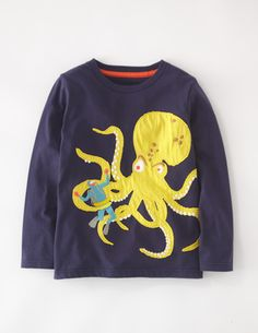 I've spotted this @BodenClothing Action T-shirt Navy/Octopus