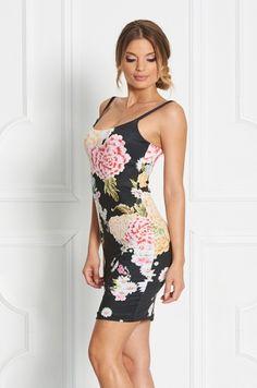 Puzdrové šaty z limitovanej Zsolnay kolekcie. Šaty sú na tenké nastaviteľné ramienka. Vhodné na teplé letné dni - na príležitosť či bežné nosenie.