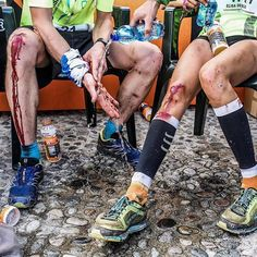 Blood sweat and tears! What lengths are you prepared to go to in order to complete your dream race? Get ready for this years #LimoneExtreme @skyrunning event. : @iancorlessphotography - Limone #running #sky #classic #mountains #vertical #technical #skyrunner #lesscloudmoresky #trailandkale #Trailrun #trailrunning #ultrarunning #ultratraining #mountainrunning #traillove #getofftheroad #runforlife #skyrunning #runnerscommunity #runnerslife #runhappy #runforfun #runninggirl #runningwoman…