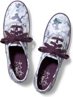 696feb8ae2d13 Keds Taylor Swift s Champion Floral Print Keds Shoes
