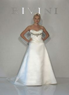 "Rivini by Rita Vinieris - ""Lienz"" Bridal Boutique, Bridal Collection, One Shoulder Wedding Dress, Wedding Gowns, Beautiful, Design, Fashion, Wedding Frocks, Moda"