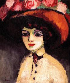 Kees van DONGEN (1877-1968), La Parisienne de Montmartre, ca. 1907-1908, huile sur toile, 64,5 x 53,2 cm. © MuMa Le Havre / David Fogel — © ADAGP, Paris, 2013