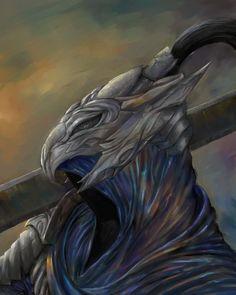Dark Souls: Artorias the abysswalker by Theocrata on DeviantArt