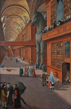 La biblioteca magica | MUST Museo del territorio vimercatese www.museomust.it500 × 763Buscar por imagen Gianfilippo Usellini, La scienza Elio Ferrara - Il Gelataio - Buscar con Google