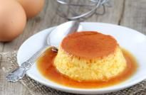 Flan de huevo tradicional