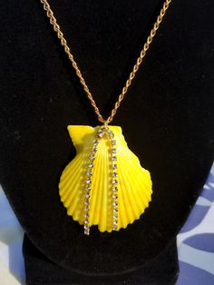 Imperfect Perfect Collection  Vibrant Yellow Scallop by SeaCasual