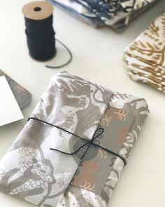 Christmas orders heading out with our lovely custom These Walls tissue wrapping paper. Complimentary gift wrapping and express post shipping for all cushion covers bags and silk scarf orders (within Australia) until Friday 22nd Dec.