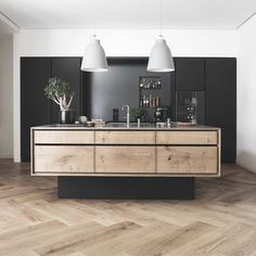 Wood kitchen / Dinesen