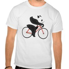 cycling panda tee shirt