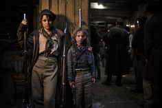 Both Samantha Barks (Eponine) and Daniel Huttlestone (Gavroche) are reprising roles that they first played in the London theatre production of Les Misérables