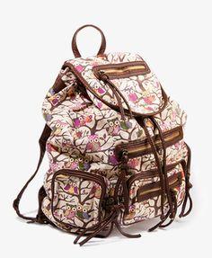 Owl Print Backpack | FOREVER21 - $30