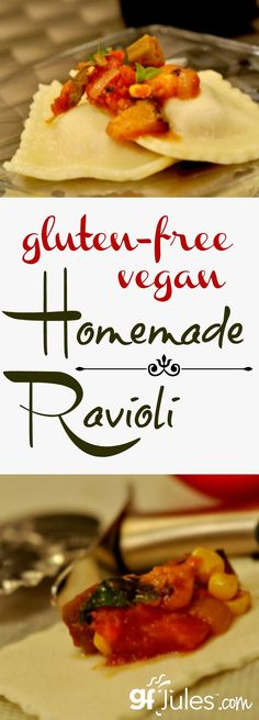Homemade gluten free ravioli is so much easier than you might think, and way yummier!