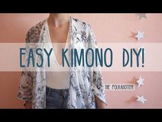 DIY Easy Kimono/Yukata with Easy Pattern | DIY Cosplay Costume | Designed by me - YouTube