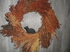 Broom Corn Wreath