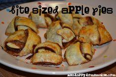 Bite-Sized Apple Pies- 5 ingredients! Must. make. soon.
