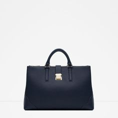 OFFICE CITY BAG WITH METALLIC CLASP