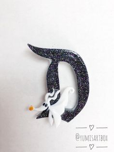 CHOICE from the Nightmare Before Christmas inspired brooch.