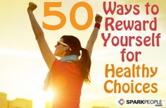 Be sure to reward yourself in healthy ways when you celebrate your smokefree milestones! Here are 50 ideas to reward yourself with instead of food.
