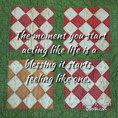 And so it is! . . #quilt #quilting #patchwork #quiltville #bonniekhunter…