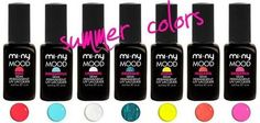 Hello Girls♥  E' arrivata la nuovissima SUMMER COLORS Collection Semi permanent UV lacquer MI-NY!   In tutti gli Stores MI-NY ed anche online. http://www.minycosmetics.com/lacquer.php?idcategoria=7 nails #nailpolish #naillacquer #semipermanent #summer #colors #women #cool #fashion