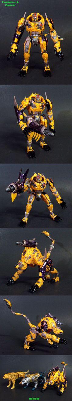 Transmetal 2 Cheetor by Unicron9 on DeviantArt